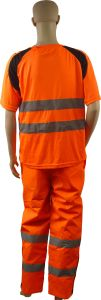 High Quality Reflective Safety Coverall pictures & photos