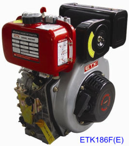 12HP Electrical Start Diesel Engine (ETK186F E) pictures & photos