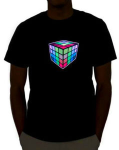 Custom Flashing Equalizer Disco T Shirts pictures & photos