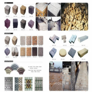 Natural Granite & Marble & Cobble Decoration Stone for Paving, Garden, Wall pictures & photos