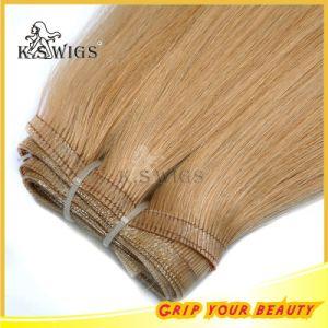 Glue Hair Indian Virgin Human Hair Extension pictures & photos