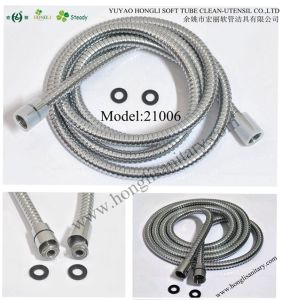 21006 Stainless Steel Felexible Shower Hose pictures & photos