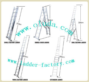 Extension Ladder / Sliding Ladder (meet EN131/ BSCI)