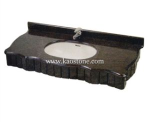 Natural Black Granite / Marble Stone Vanity Top/Countertop for Kitchen, Bathroom pictures & photos
