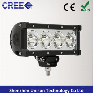 Single Row 7.5inch 9-48V 40W CREE LED Auto 4X4 Light Bar pictures & photos