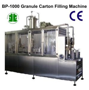 Shampoo Carton Filling Machinery (BP-1000) pictures & photos