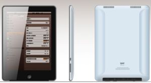 8inch Tablet PC With Capacitive Screen, Support WiFi 3G