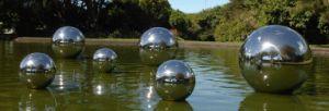 Stainless Steel Garden Balls