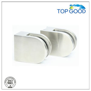 Round Glass Clamp for Modern Glass Railing