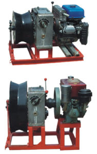 Gas Engine Powered Winch with High Quality