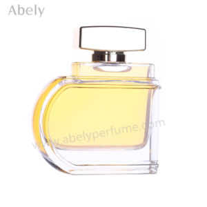 100ml Unique Aluminum Cap Decorative Glass Perfume Bottle pictures & photos
