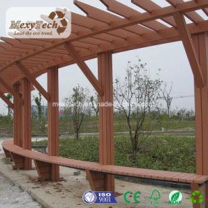 Camtpm Composite WPC Pergola in Leisure Area Gardening Design pictures & photos