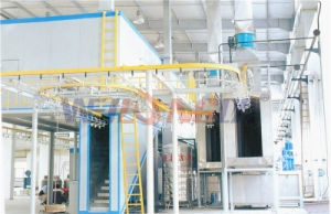 Motorcycle/Motorbike Spare Parts Coating Line pictures & photos