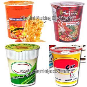 Instant Noodles Cup Sealing Machine pictures & photos