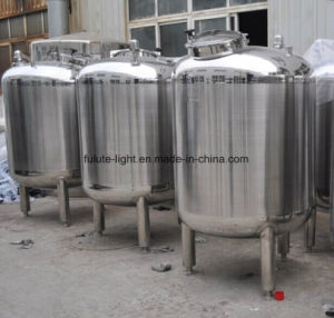 1000L Food Grade Stainless Steel Water Storage Tank pictures & photos