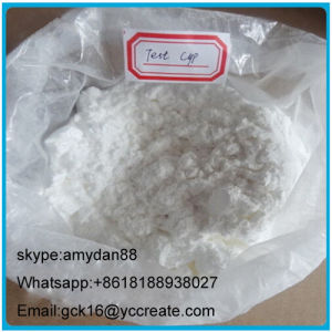 Pharmaceutical Raw Steroid Powder Test Cyp Testosterone Cypionate 58-20-8 pictures & photos