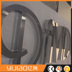 Mirror Stainless Steel Letters Signage pictures & photos