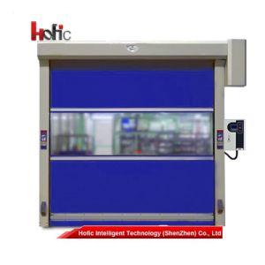 Aluminum Alloy High Speed Roller Shutter Door with PVC Windows pictures & photos
