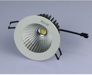 15W 18W COB White Finish Dimmable Warm White LED Downlights COB pictures & photos