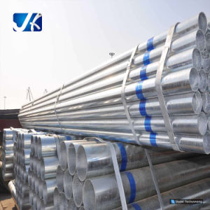 Hot-Dipped Welded Carbon Galvanized Round Steel Pipe/Welded Pipe pictures & photos