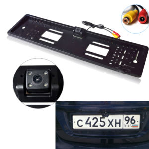 European License Plate Rear View Camera with High Quality IP67 Waterproof pictures & photos