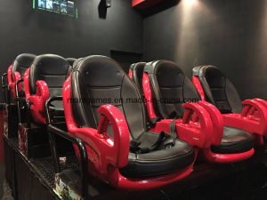 Amazing 5D Cinema 6 Dof Hydraulic Motion Platform Factory with 6 9 12 Chair pictures & photos