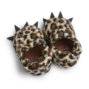 Baby Boys Girls Bear Paw Animal Slipper Bootstoddler Infant Crib Shoes pictures & photos