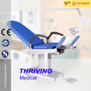Hospital Electric Gynecological Examination Table pictures & photos