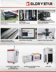 CNC Carbon Steel Fiber Laser Cutting Machine pictures & photos