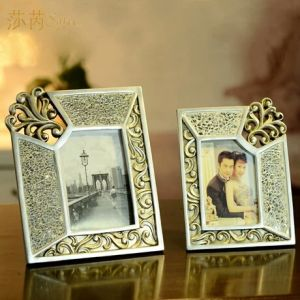 European Classical Polyresin Craft Picture/ Photo Frame pictures & photos