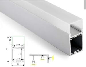 4236 Pendant Linear Light Aluminium Extrusion LED Aluminium Profile pictures & photos