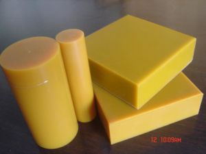 Polyurethane Sheet with Golden Color pictures & photos