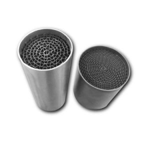 Stainless Steel Metal Honeycomb Substrate Core for Catalytic Converter pictures & photos