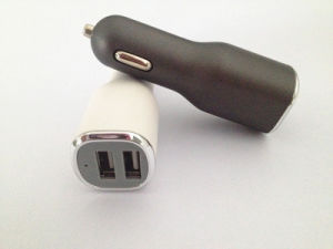 High Quality Universal Dual USB Car Charger with 5V 3.1A Output pictures & photos