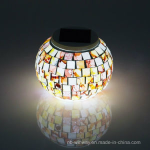 Outdoor Solar Glass Mosaic Night Light pictures & photos