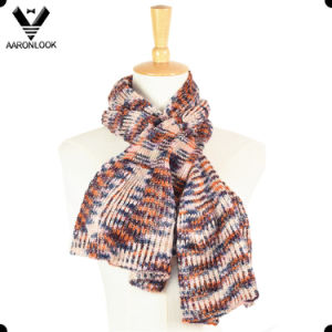 2017 New Design Colorful Acrylic Knitted Mermaid Scarf for Lady pictures & photos