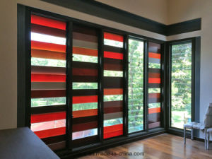 Clear Edge Polished Toughened Louvre Glass pictures & photos