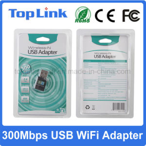 Hot Selling Low Cost 802.11n Realtek Rtl8192 USB Wireless WiFi Network Card High Speed up to 300Mbps pictures & photos