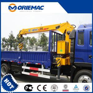 Low Price 6.3ton Telescopic Boom Truck Mounted Crane Sq6.3sk3q pictures & photos