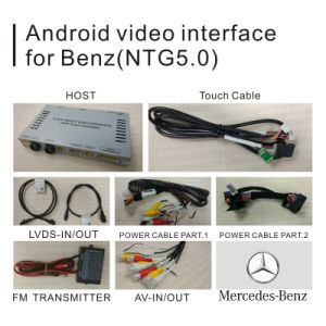Android GPS Navigation System for Mercedes Benz B Class Ntg 5.0 Video Interface pictures & photos