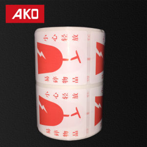 OEM Accept Pre-Printed Coated Layer Self Adhesive Sticker Rolls Suitable for Shop pictures & photos