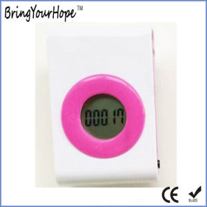 Step Counter Mini Pedometer with Two Keys (XH-PM-001) pictures & photos
