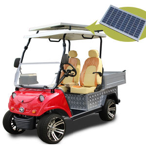 Solar Panel Utility Vehicle Electric Aluminum Small Hopper Truck pictures & photos