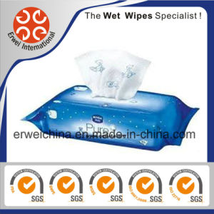 Wet Wipes with Cartoon Embossed, Nice and Lovely Design Materials pictures & photos