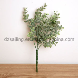 Decorative Artificial Leaves Bush Artificial Flowers (SF15434)