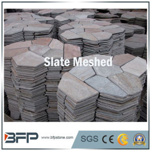 Cultural Stone Slate for Ledgstone, Roof, Meshed Slate, Flagstone, Mushroom Tile pictures & photos