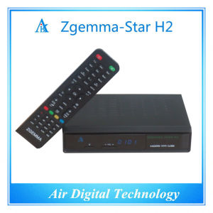 Original Satellite&Terrestrial TV Decoder DVB S DVB T2 Zgemma Star H2 pictures & photos