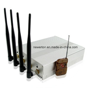High Power GSM 3G Cellular Phone Jammer with Remote Control pictures & photos