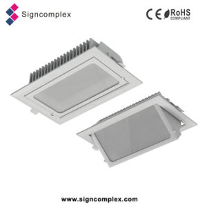Die-Casting Aluminum Alloy COB Square Indoor LED Ceiling Light Fixture From China pictures & photos