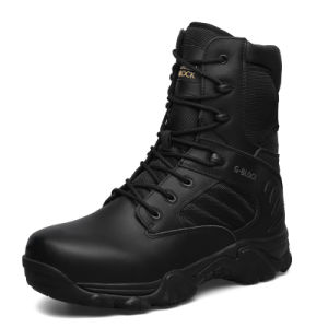 High Quality Genuine Leather Military Boots and Police Tactical Boots (31002)